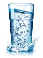 Platinus Aqua - pohár
