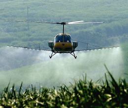 Permetező helikopter