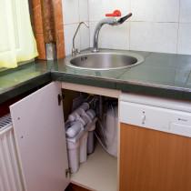 Családi víztisztító mindössze 48cm x 48cm helyen